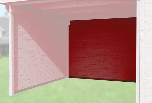 Weka Rückwand für Anbau 150 cm, 21mm für Typ 126 und 172 schwedenrot