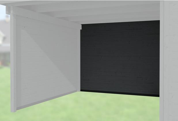 Weka Rückwand für Anbau 300 cm, 21mm für Typ 126 und 172 anthrazit