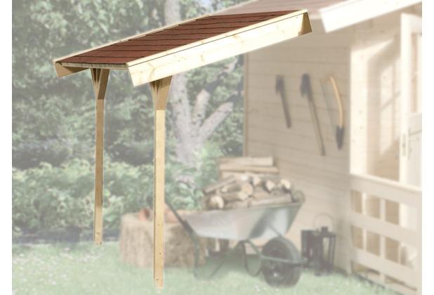 Weka Schleppdach für weka Gartenhaus ab Haustiefe 300 cm