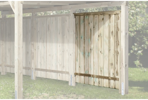 Weka Seitenwand für Carports, kdi, 20 mm