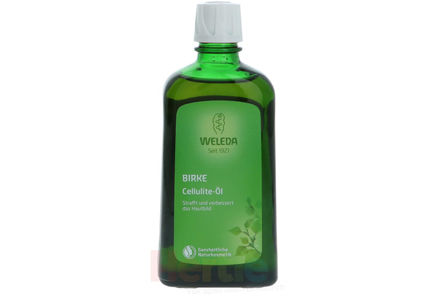 Weleda Birch Cellulite Oil Improves Skintone and Appearance 200 ml