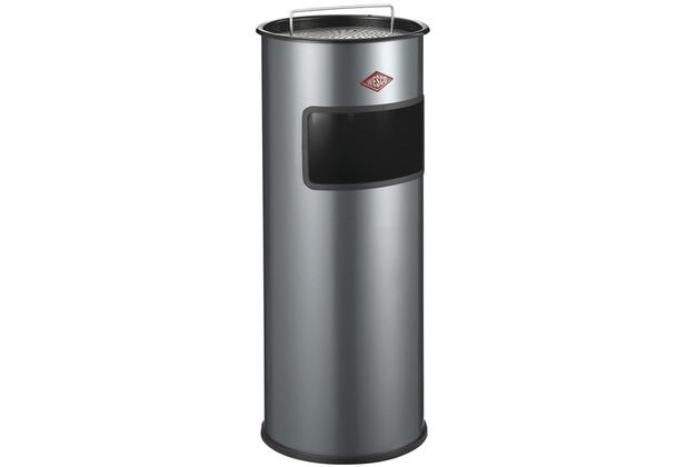 Wesco Standascher mit Sieb 30 l, Farbe: graphit