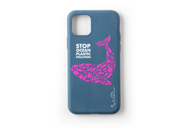 Wilma Stop Plastic Whale for iPhone 11 Pro dark blue