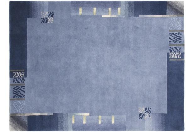 Kelii Nepalteppich Jahadi, blau 250 x 300 cm
