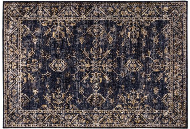 Wohn Idee Teppich Lara, blau 120cm x 170cm
