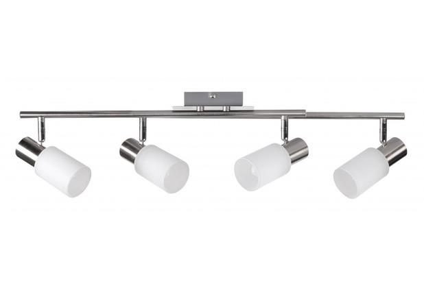 Wohnling 4 flammig LED Deckenleuchte inkl. Leuchtmittel E14 (EEK: A+)