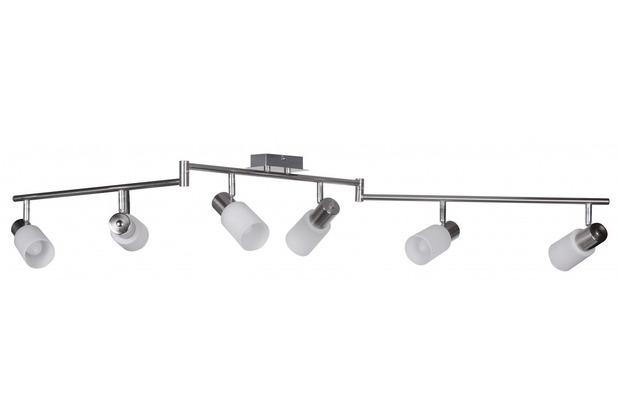Wohnling 6 flammig LED Deckenleuchte inkl. Leuchtmittel E14 (EEK: A+)