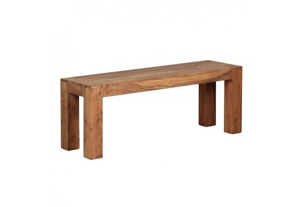 Wohnling Akazie Massivholz Esszimmer Sitzbank Bank 120 x 35 cm Holz