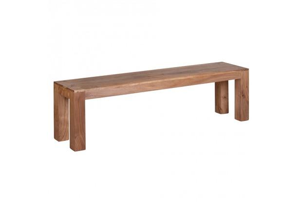 Wohnling Esszimmer Sitzbank Bank 160 x 35 cm Akazie Holz