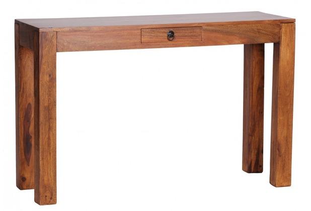 wohnling sheesham konsolentisch massiv 120 cm mit 1. Black Bedroom Furniture Sets. Home Design Ideas