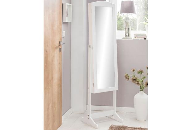 Beste Wohnling Standspiegel WL5.721 Weiß Holz 41 x 160 x 38 cm EY-64