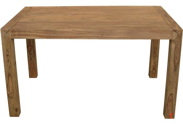 Wolf Möbel Esstisch 140x90 Holz massiv Shisham
