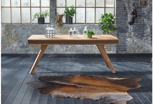 Wolf Möbel Esstisch mit Ansteckplatten 200/290x100