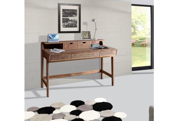 Wolf Möbel Schreibtisch mit 5 Schubladen