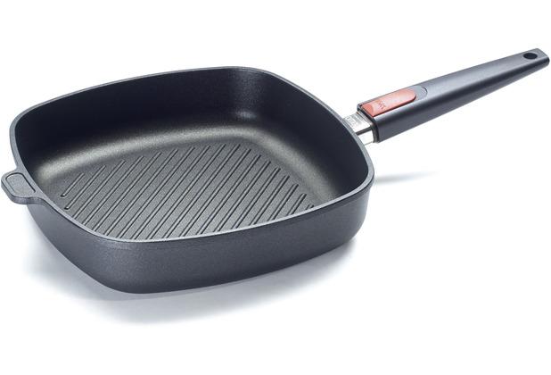 Woll Nowo Titanium Guss-Steakpfanne viereckig 28 x 28 cm