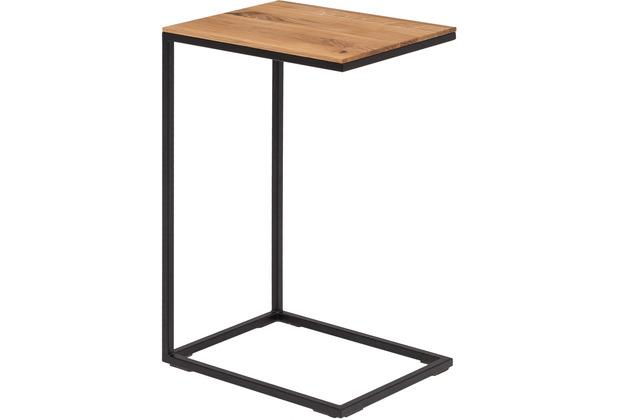 Woodlive Beistelltisch Cube Schwarz 30x40x65  cm