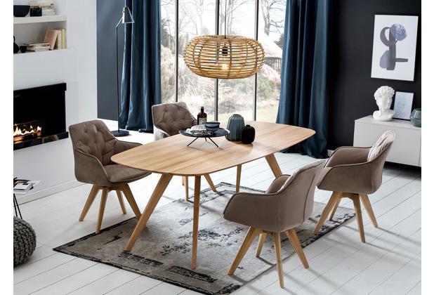 Woodlive Esstisch Odense 140x90  cm