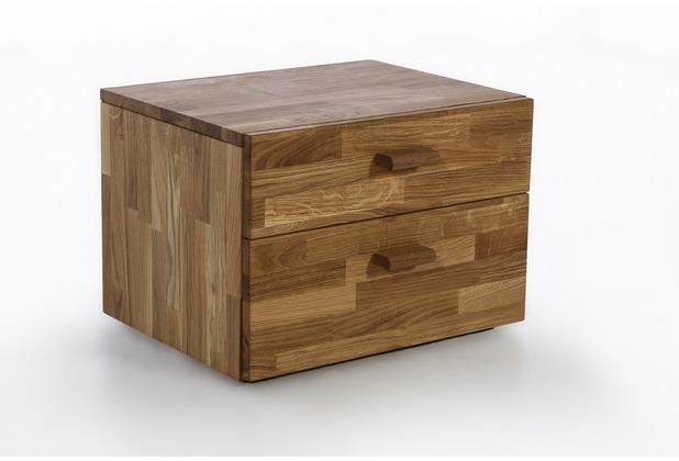 Woodlive Nachtkonsole Nr.1 aus Wildeiche 40x54 cm