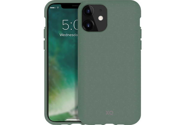 xqisit Eco Flex for iPhone 11 palm green