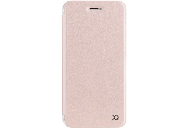 xqisit Flap Cover Adour for iPhone 7 Plus / iPhone 8 Plus rose gold col.