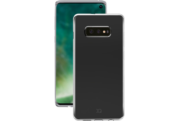 xqisit Flex Case for Galaxy S10e clear