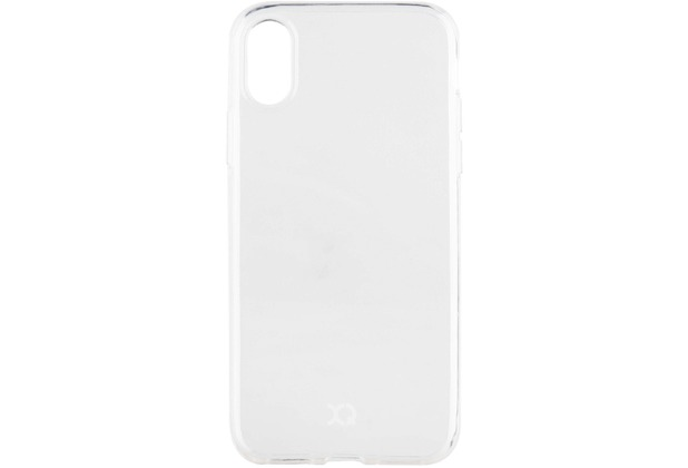xqisit Flex Case for iPhone X transparent