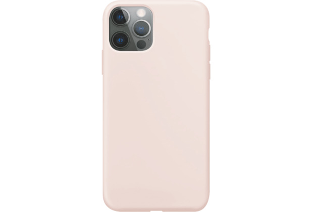 xqisit Silicone Case Anti Bac for iPhone 12 / 12 Pro rose