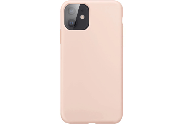 xqisit Silicone Case Anti Bac for iPhone 12 mini rose