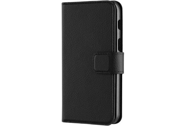 xqisit Slim Wallet for Galaxy A3 (2017) schwarz