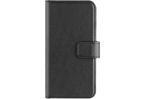 xqisit Slim Wallet Selection for iPhone 7 schwarz