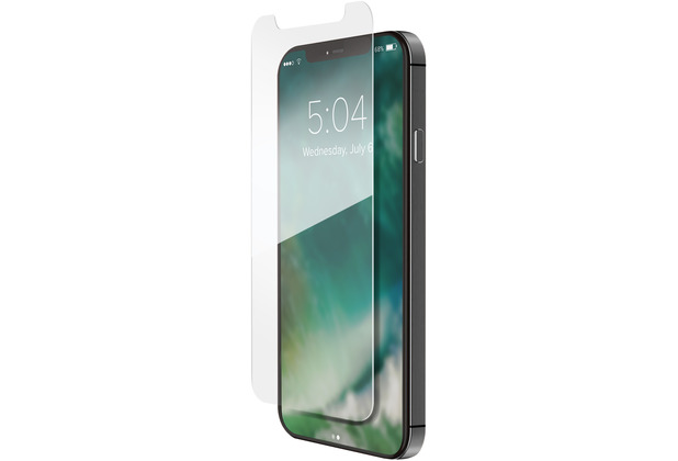 xqisit Tough Glass Case Friendly for iPhone 12 / 12 Pro clear