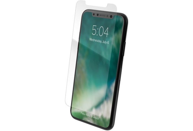 xqisit Tough Glass CF 2,5D for iPhone 11 Pro clear