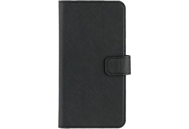 xqisit Wallet Case Viskan for iPhone 7 Plus / iPhone 8 Plus schwarz