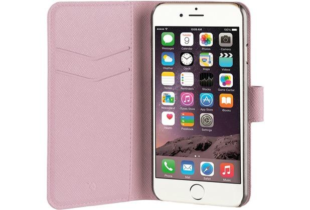xqisit Wallet Case Viskan for iPhone 7 / 8 rose gold col.