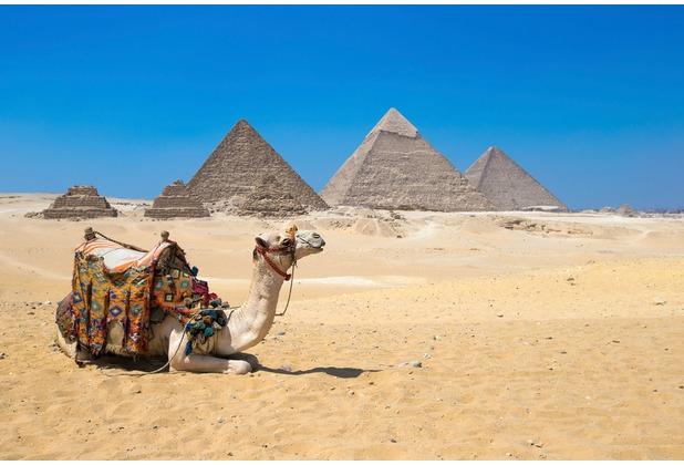 XXLwallpaper Fototapete Gizain Cairo 150 g Vlies Basic 2,00 m x 1,33 m