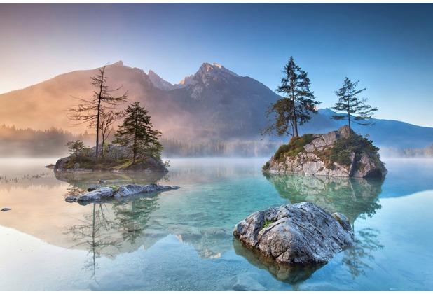 XXLwallpaper Fototapete Lake 150 g Vlies Basic 2,00 m x 1,33 m