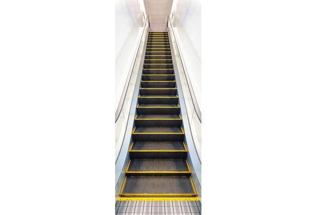 XXLwallpaper Fototapete Moving Stairway 150 g Vlies Basic 0,91 m x 2,11 m