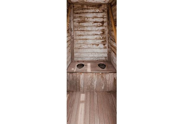 XXLwallpaper Fototapete Outhouse 150 g Vlies Basic 0,91 m x 2,11 m