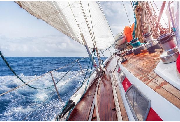 XXLwallpaper Fototapete Sailing 150 g Vlies Basic 2,00 m x 1,33 m