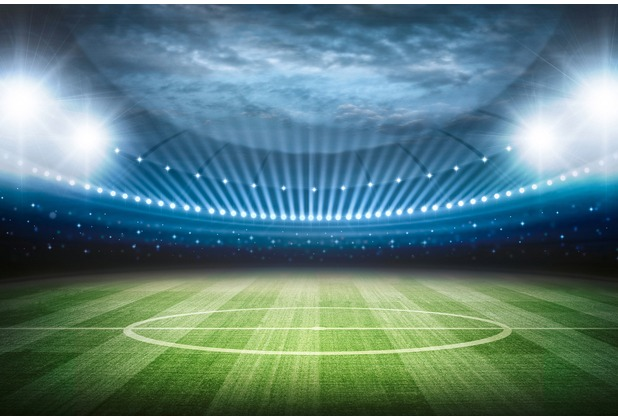 XXLwallpaper Fototapete Stadion 150 g Vlies Basic 2,00 m x 1,33 m