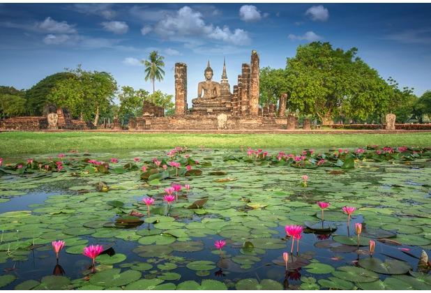 XXLwallpaper Fototapete Sukhothai 150 g Vlies Basic 2,00 m x 1,33 m