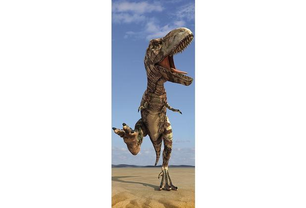 XXLwallpaper Fototapete T-Rex 150 g Vlies Basic 0,91 m x 2,11 m