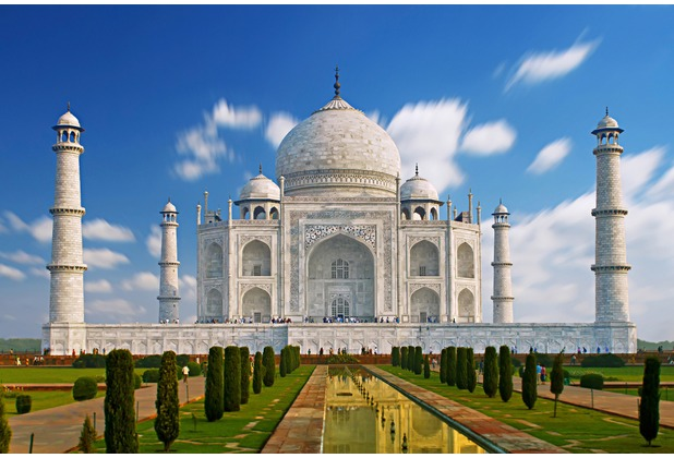 XXLwallpaper Fototapete Taj Mahal 150 g Vlies Basic 2,00 m x 1,33 m