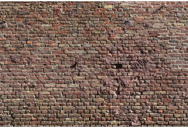 XXLwallpaper Fototapete Ziegel 1 150 g Vlies Basic 2,00 m x 1,33 m