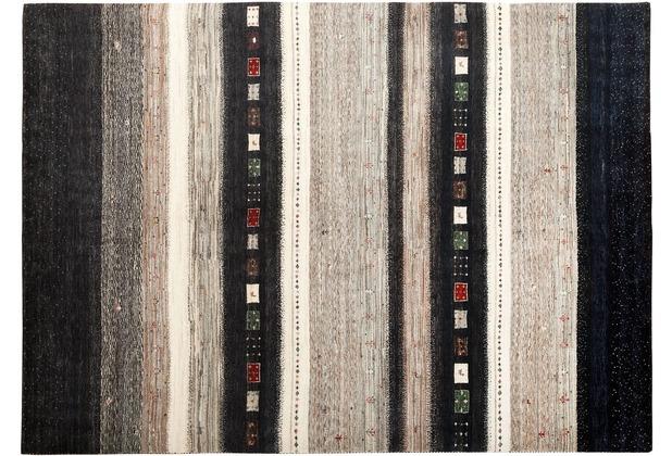 Zaba Gabbeh-Teppich Lorri Fino N-522 mehrfarbig 70 x 140 cm