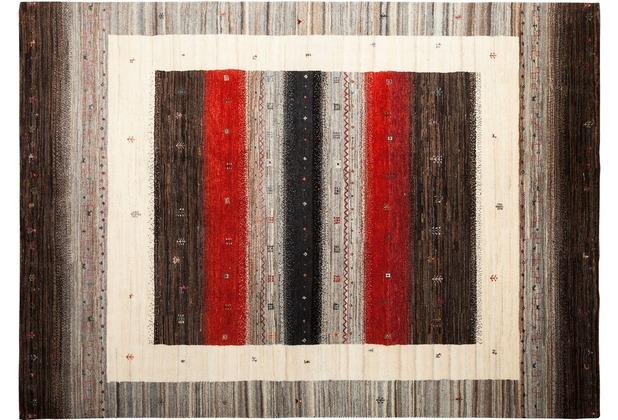 Zaba Gabbeh-Teppich Lorri Fino N-526 mehrfarbig 70 x 140 cm