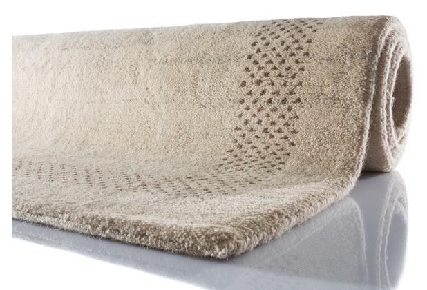 Zaba Gabbeh-Teppich Manipur beige 60 cm x 90 cm