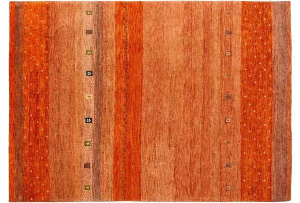 Zaba Gabbeh-Teppich Spirit N-2030 terra 40 x 60 cm