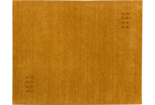 Zaba Gabbeh-Teppich Tashi amber 40 cm x 60 cm
