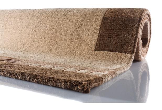Zaba Nepalteppich Kabru beige-sand 40 cm x 60 cm